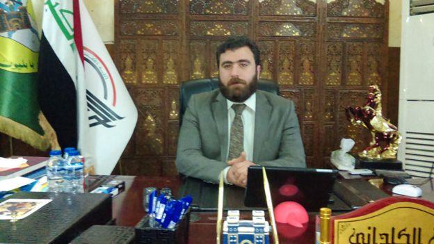 Rayan Al-Kildani, pimpinan Brigade Babylon.