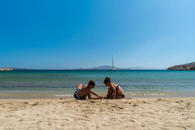Baie de Kalados-Naxos-Cyclades