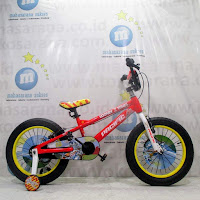 18 pacific looney tunes bugs bunny lisensi bmx sepeda anak