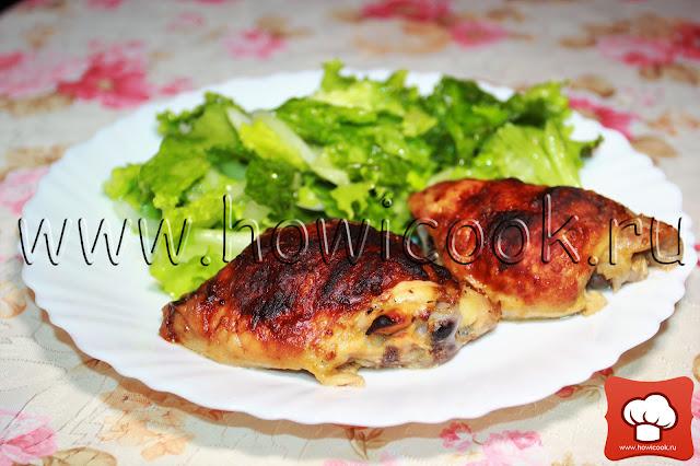 рецепт приготовления курицы в духовке