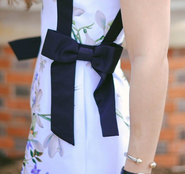 dress with bows for easter