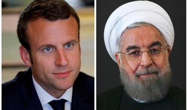 روحاني يهاتف ماكرون وباريس تأمل نزع سلاح حزب الله