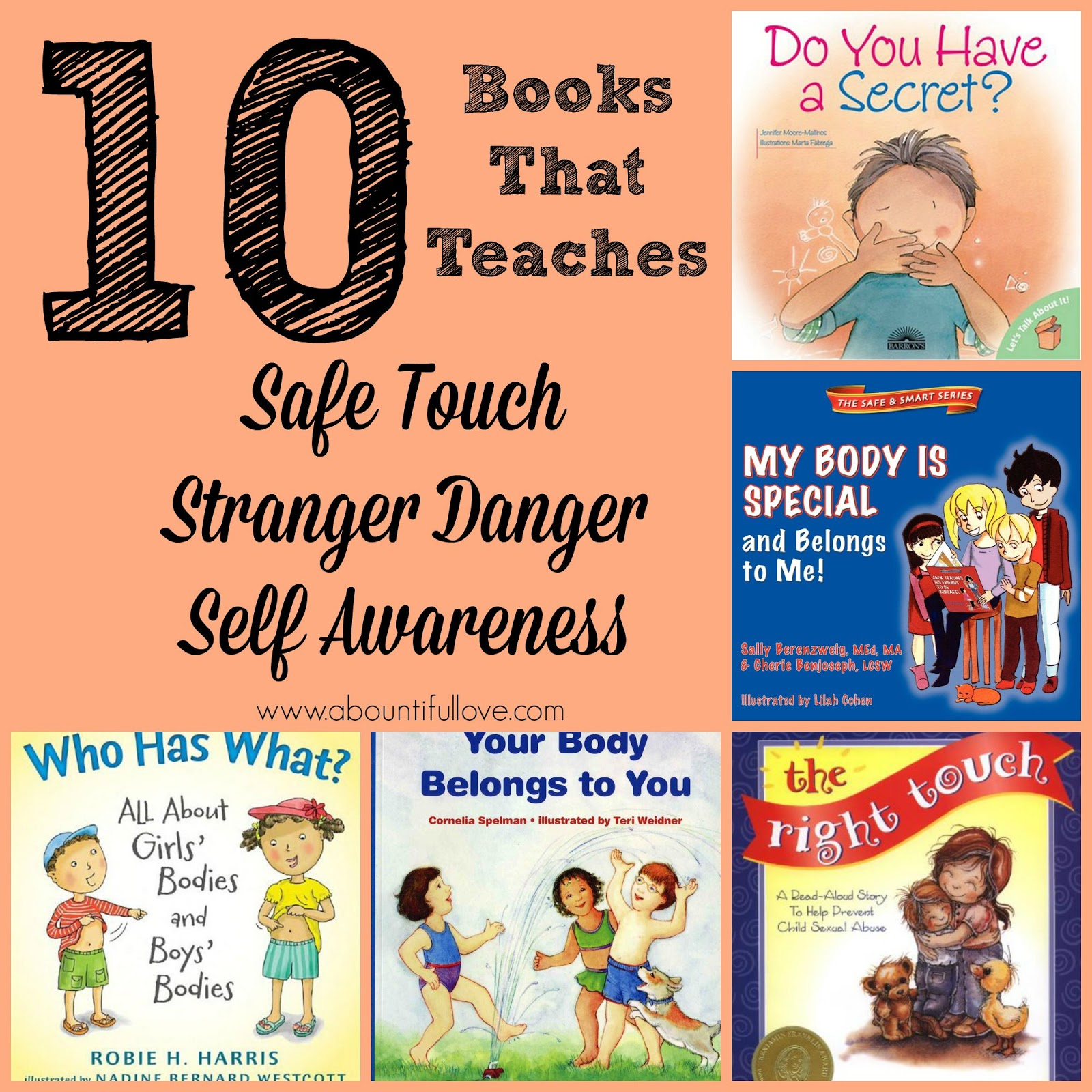 10 Books That Teaches Safe Touch Stranger Danger And Self