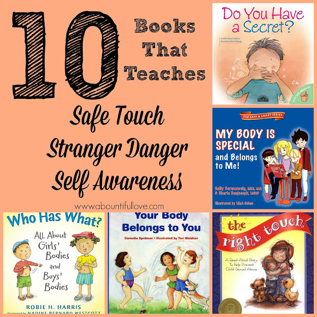 0 Books That Teaches Safe Touch, Stranger Danger and Self Awareness