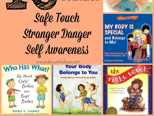 10 Books That Teaches Safe Touch, Stranger Danger and Self Awareness