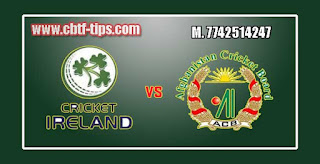 1st ODI Match Prediction Tips by Experts IRE vs AFG
