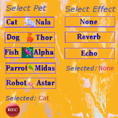New app! Voice Changer to Pets for Android