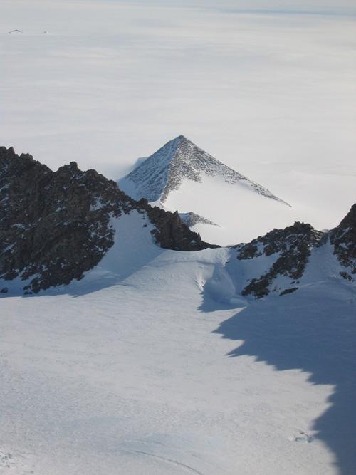 derretimiento  Antártida pirámides
