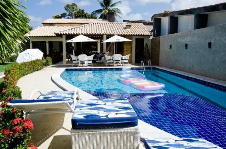 Vazamento em piscinas de azulejo