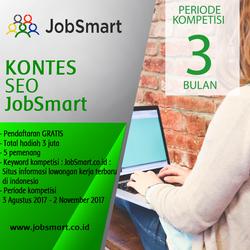 Banner Jobsmart SEO Contest