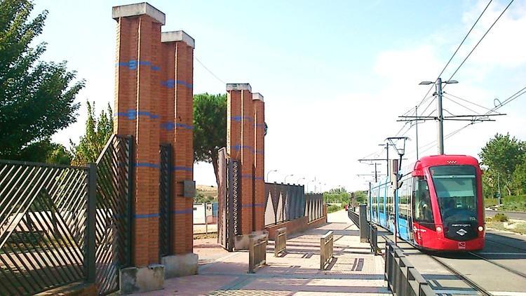 proyecto parque las desueltas boadilla del monte madrid acceso y tranvia