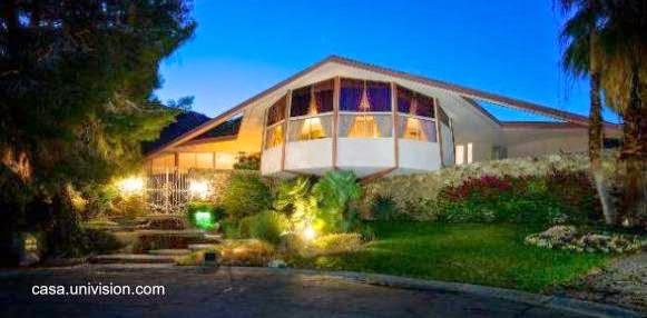 Residencia vanguardista de Elvis Presley en Palm Springs