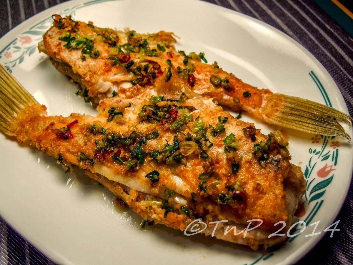 T&P : 椒鹽剝皮魚