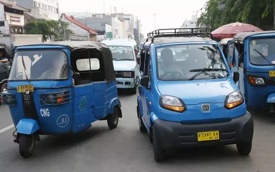AGEN BOLA - Transportasi Baru Kota jakarta, Bajaj Qute Menggantikan Bemo