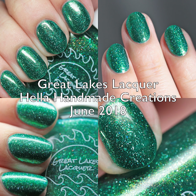 Great Lakes Lacquer Hella Handmade Creations June 2018
