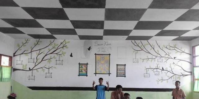 dekorasi ruang kelas sma terbaru