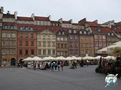 Rynek Starego Miasta de Varsovia