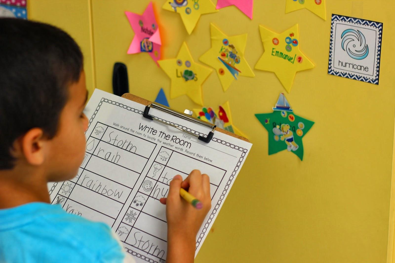 Kindergarten Smiles Weather Unit