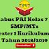 Silabus PAI Kelas 7 8 9 SMP/MTs Semester 1 Kurikulum 2013 Tahun 2018/2019