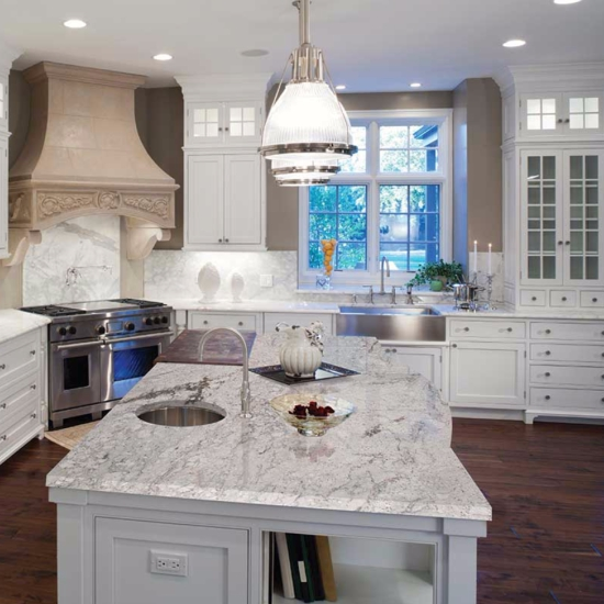 Meera White Granite Countertops