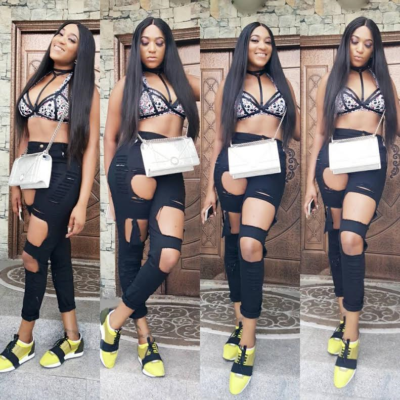 Gossip Nigeria Blog .: Actress Rukky Sanda steps out in sexy outfit to