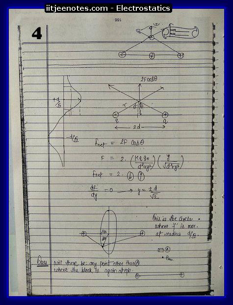 Electrostatics 4