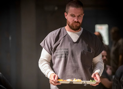 Pictured: Stephen Amell as Oliver Queen/Green Arrow -- Photo: Jack Rowand/The CW -- © The CW Network, LLC. All rights reserved.
