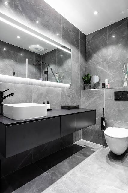 desain kamar mandi apartemen minimalis dan mewah