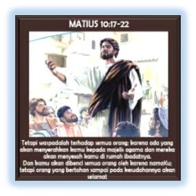 Matius 10:17-22