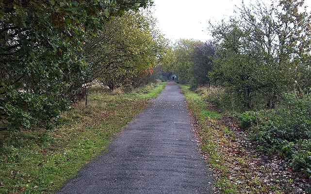 Site of Wetherby Racecourse Railway Station