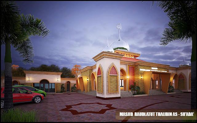 Desain Masjid Minimalis Universitas Islam Jember (Q'Desain)