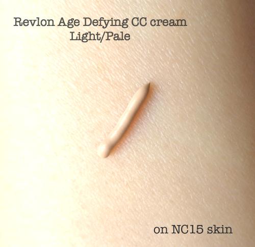 Beauty Story Cc Cream Real Complexion: NEW Revlon Age Defying CC Cream Light