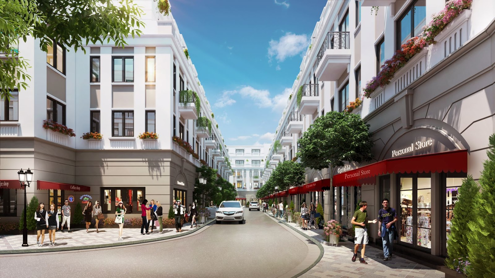 Nhà phố thương mại Geleximco Lê Trọng Tấn
