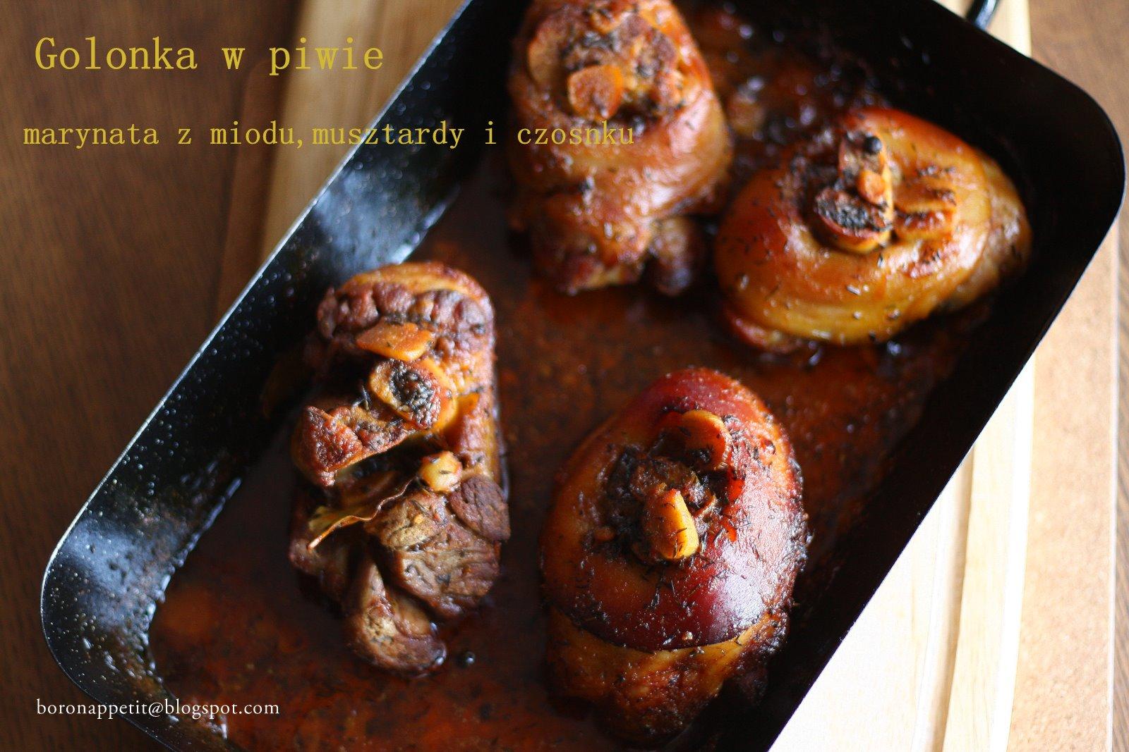 Blog Boron Appétit Golonka W Piwie