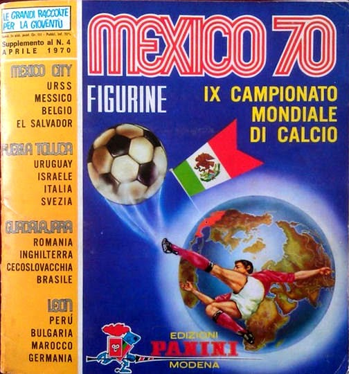 Panini album calciatori stickers Mexico 70 new sticker Green Back Maroc
