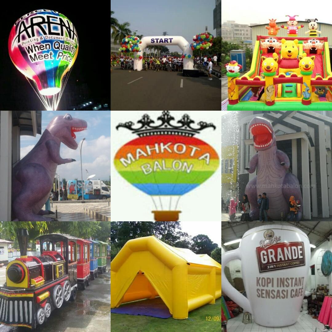 Balon Cirebon Loncat Mainan Anak