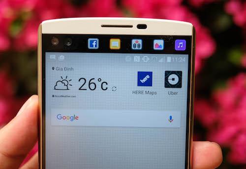 Màn hình của LG V10