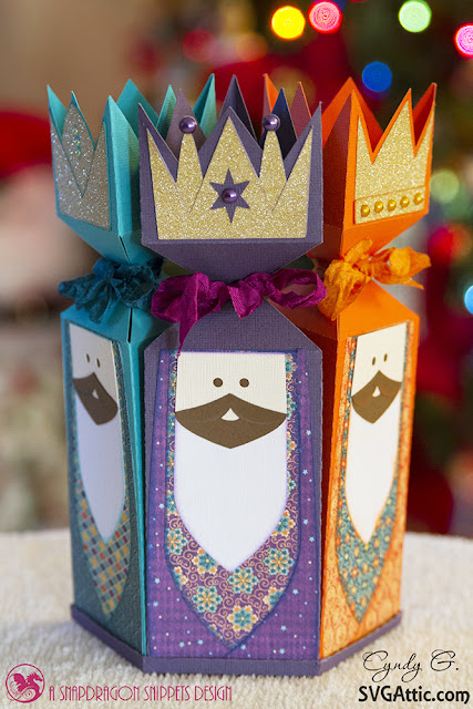 Wise men cracker boxes