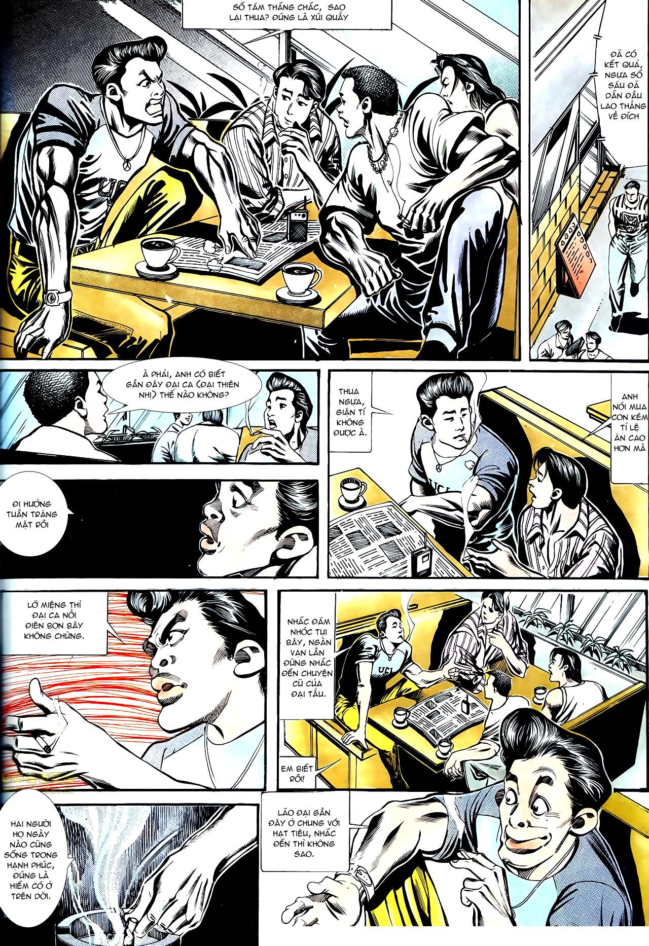 Người Trong Giang Hồ chapter 150: ai không yêu anh hùng trang 8