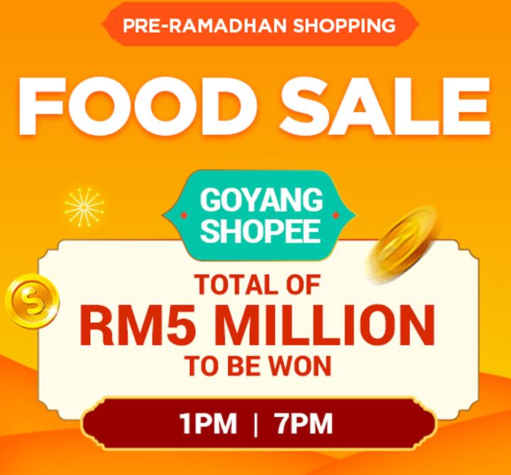 Pre-Ramadan Shopping di Shopee