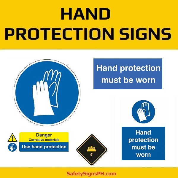 Hand Protection Signs Philippines