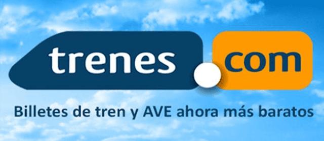 Trenes.com compra billetes baratos tren y AVE