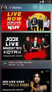 JOOX Music, aplikasi terbaik streaming musik dan download