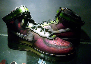 patina, patinaed sneakers, nike airforce1