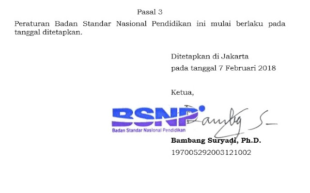 POS USBN Tahun 2018 Dari BSNP Kemdikbud