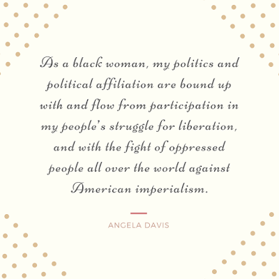Black Woman and Politics Angela Davis Quote
