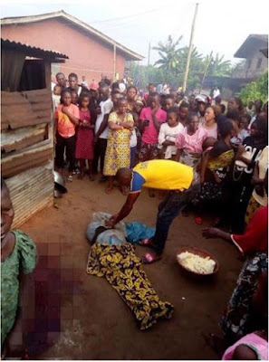 Woman Beheaded In Front Of Her Home, Vital Organs Missing In Delta (Photo)