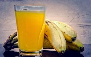 Perder peso com a dieta shakes com sabor de banana