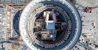 Georgia Power told regulators that the Plant Vogtle expansion project would bring low-cost, carbon-free power to Georgia when the reactors started up in 2016 and 2017. Construction on the units continues. (Photo Credit: Georgia Power) Click to Enlarge.