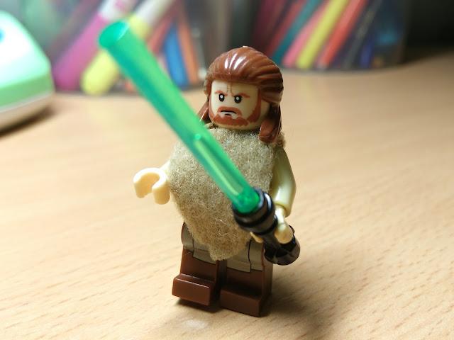 Квай Гон фигурка Лего